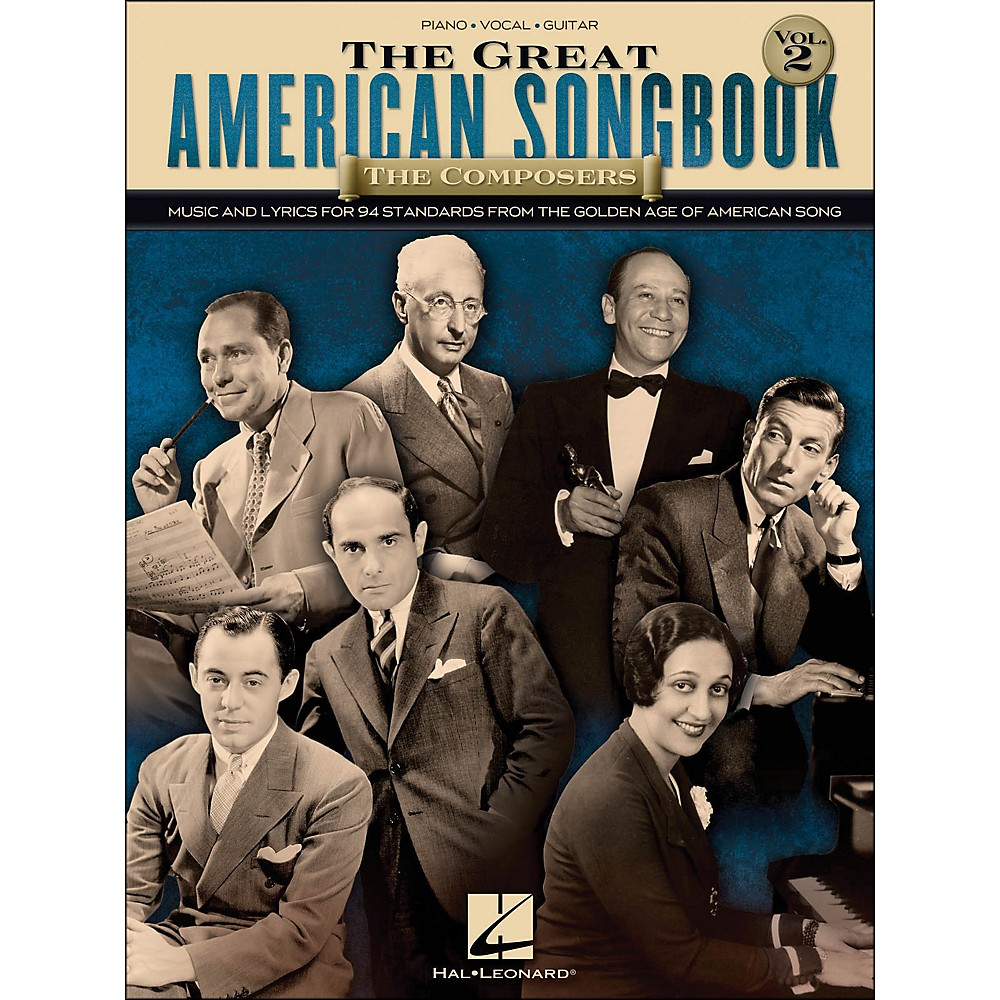 Hal Leonard The Great American Book The Composers Vol 2 Book image