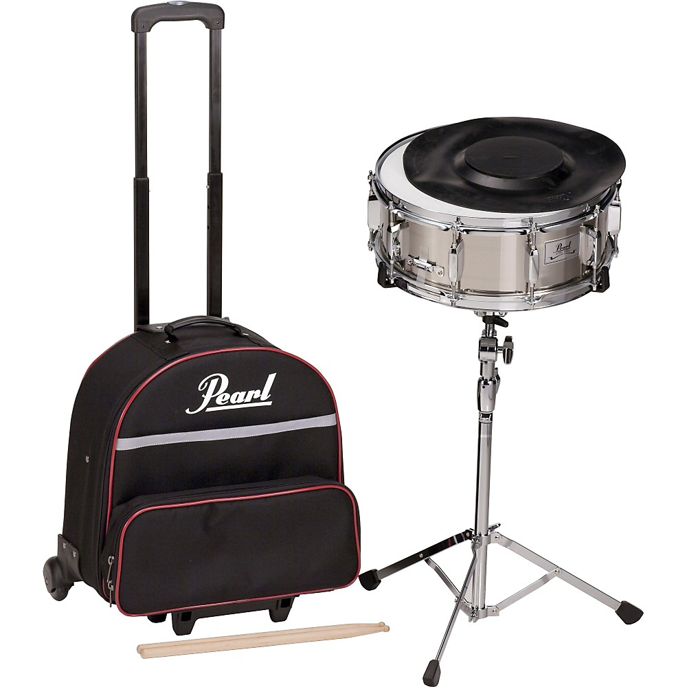 Yamaha student snare drum kit with backpack and rolling cart for Yamaha student bell kit with backpack and rolling cart