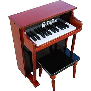 Schoenhut 25-Key Traditional Spinet Upright Piano with Bench