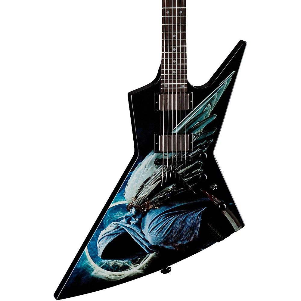 Dave Mustaine Guitars : dean dave mustaine zero angel of deth ii electric guitar custom graphic ~ Vivirlamusica.com Haus und Dekorationen