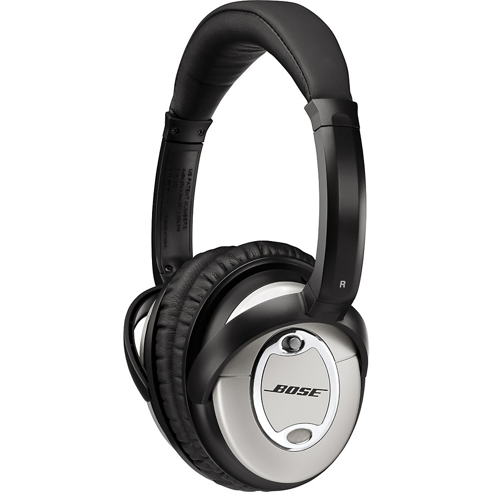 Bose Quietcomfort 15 Acoustic Noise Cancelling Headphones Silver