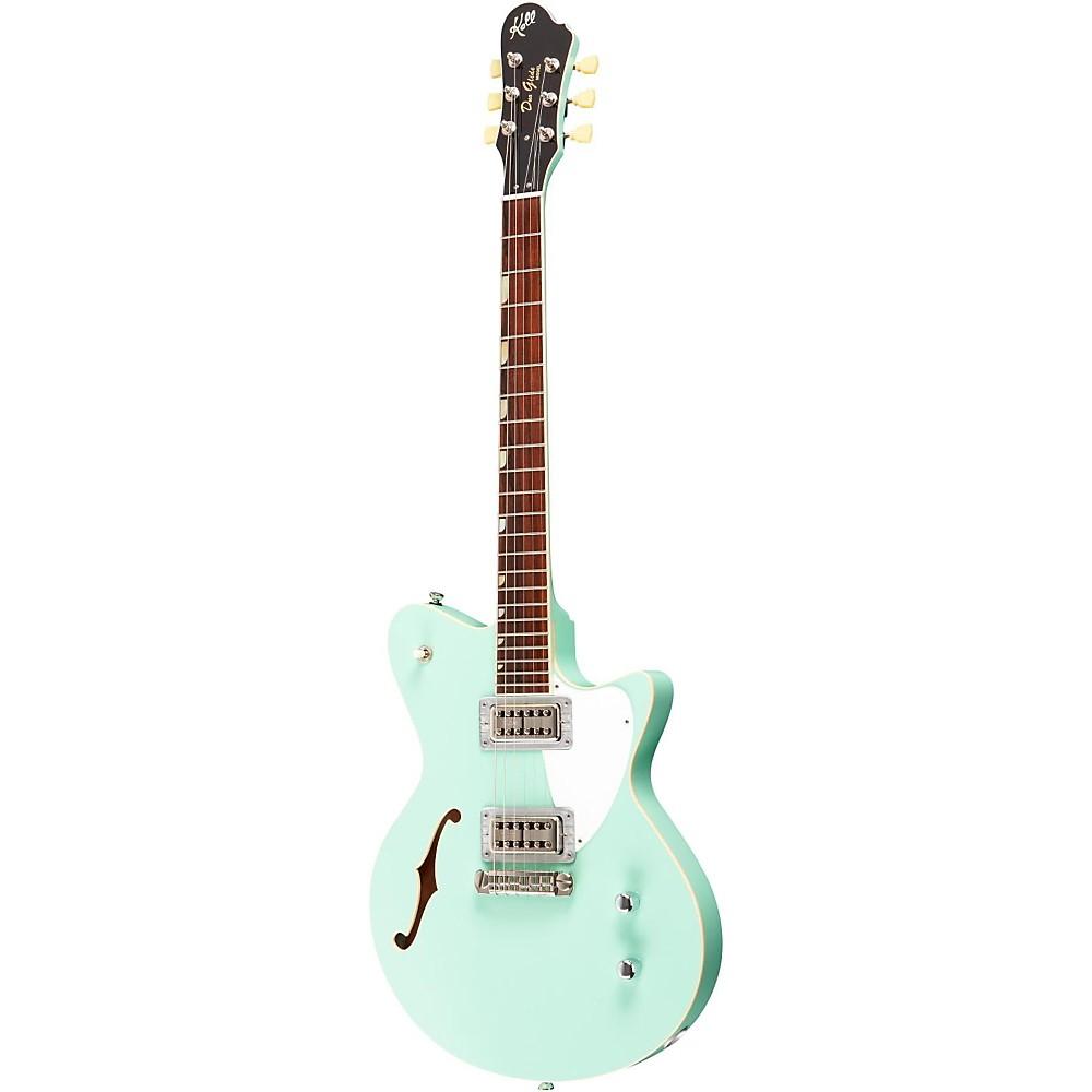 Koll Guitars Duo Glide Electric Guitar Surf Green