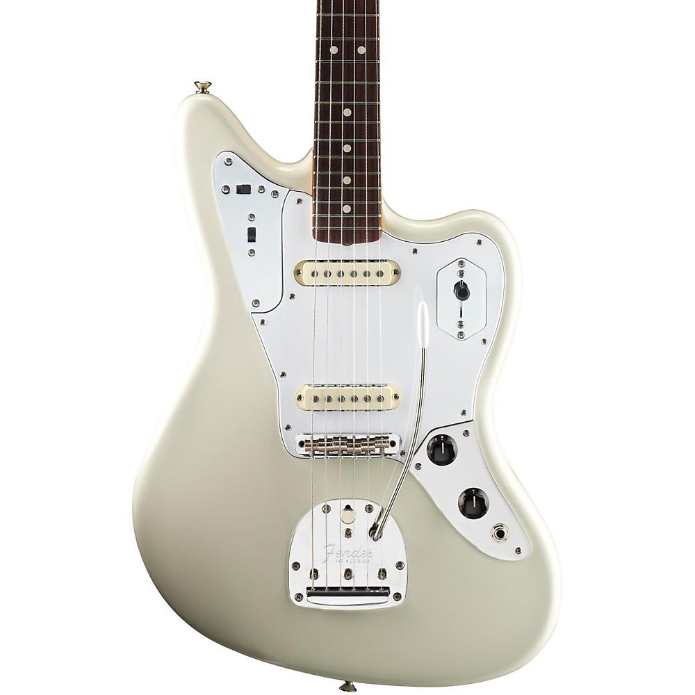 fender johnny marr jaguar electric guitar olympic white rosewood fingerboard ebay. Black Bedroom Furniture Sets. Home Design Ideas