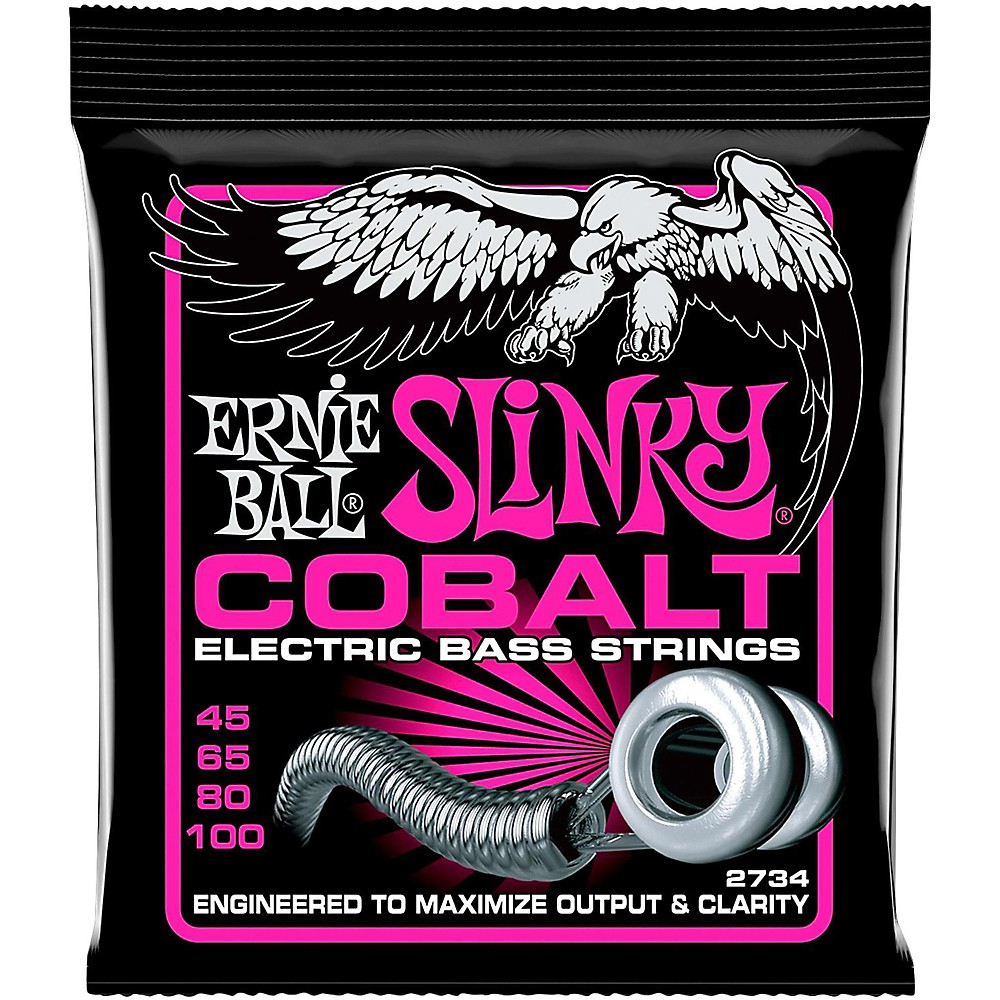 Ernie Ball 2734 Cobalt Super Slinky Electric Bass Strings