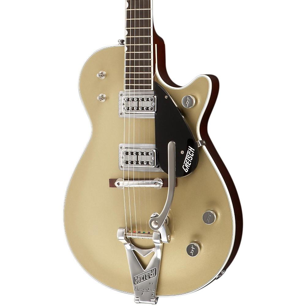 gretsch guitars g6128t tvtaftb power jet electric guitar gold top ebay. Black Bedroom Furniture Sets. Home Design Ideas