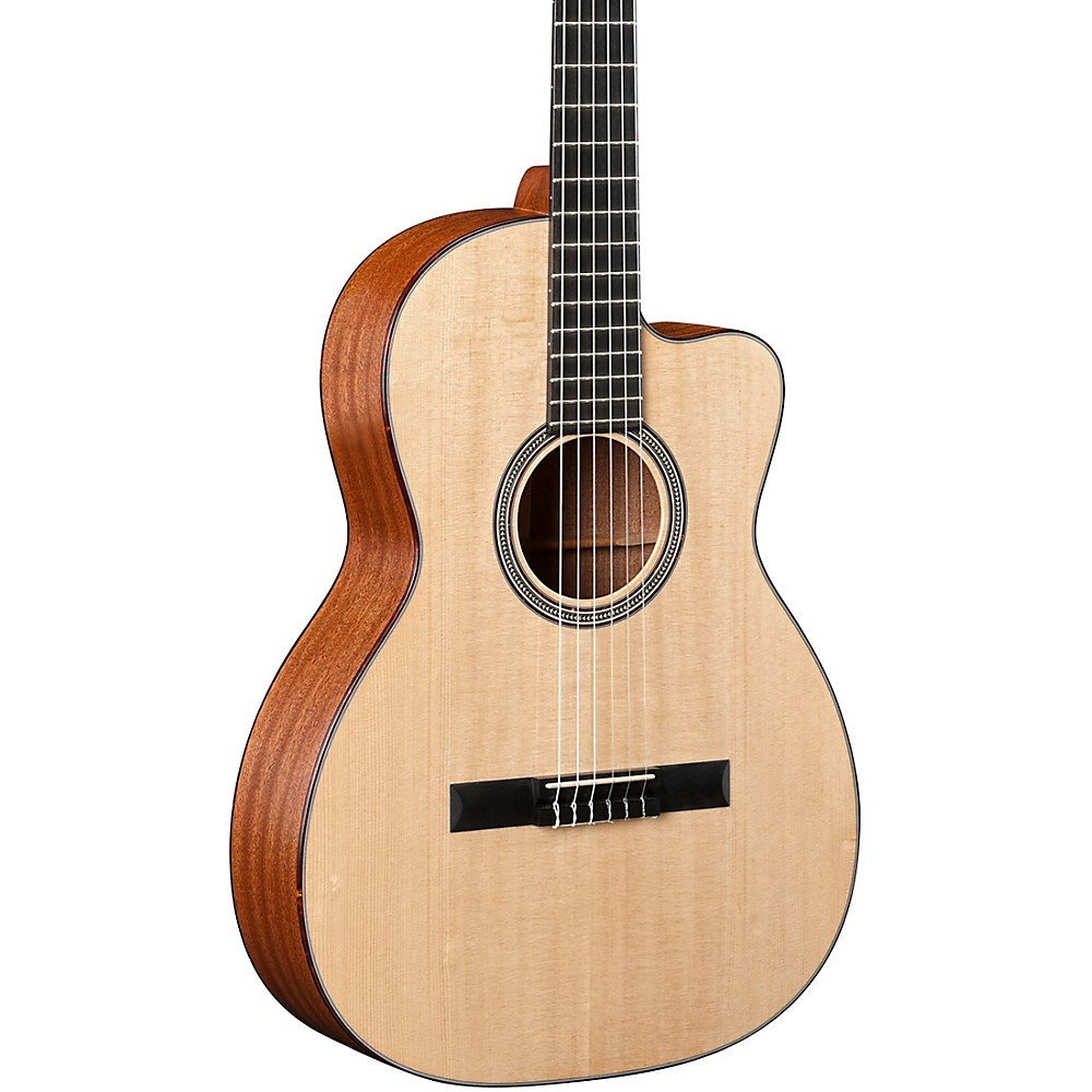 martin 000c nylon string cutaway acoustic electric guitar natural ln ebay. Black Bedroom Furniture Sets. Home Design Ideas