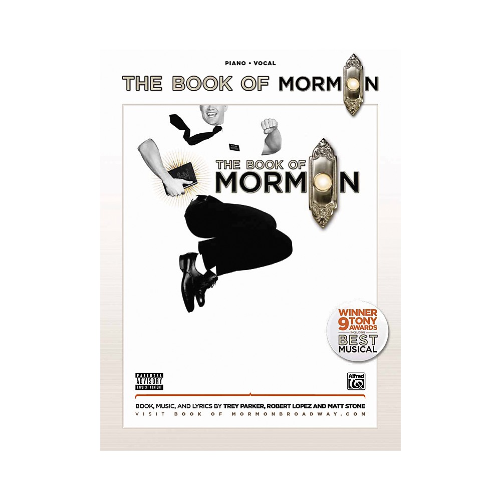 Alfred The Book Of Mormon Sheet Music From The Broadway Musical Pvc Book image