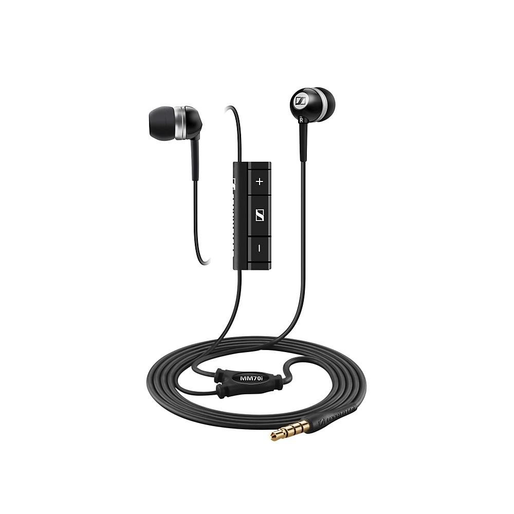 Sennheiser MM 70i In-Ear Stereo Headphones w/ Microphone Black