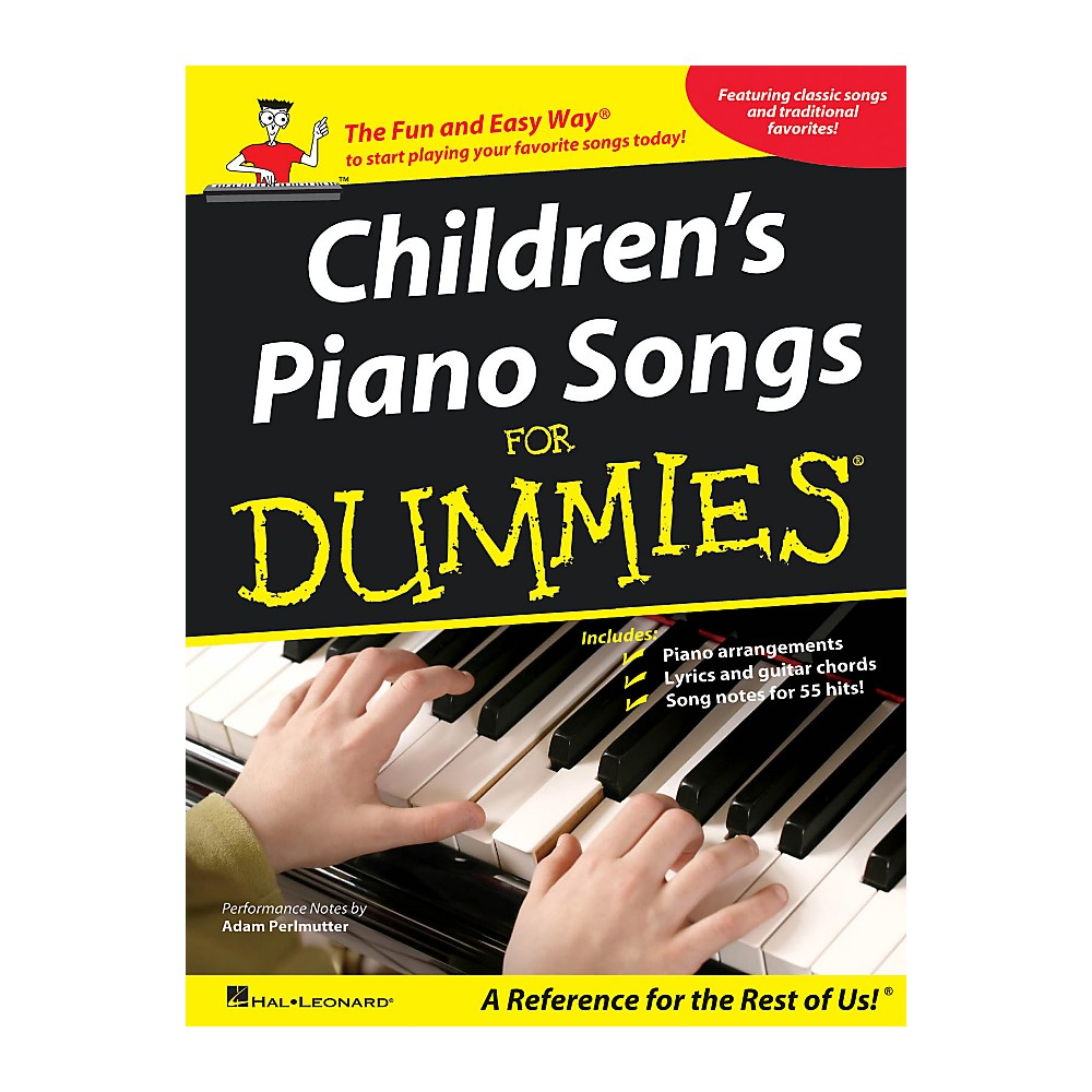 Hal Leonard Children's Piano Songs For Dummies