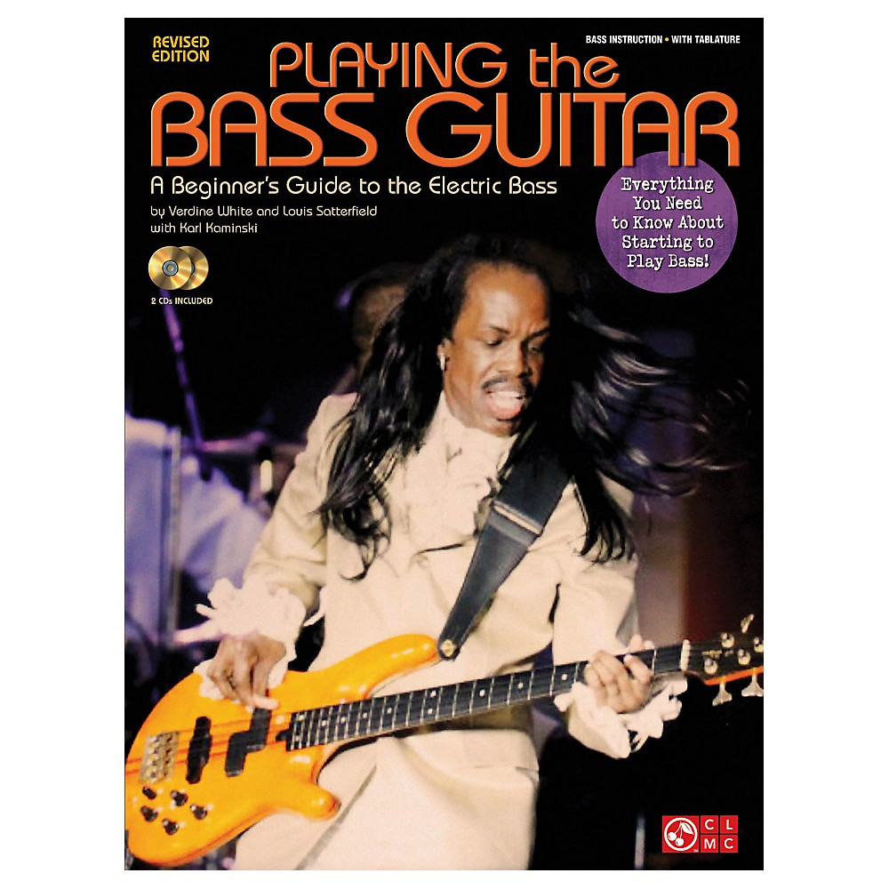 Cherry Lane Playing The Bass A Beginner`s Guide To The Electric Bass Revised Edition Book Cd