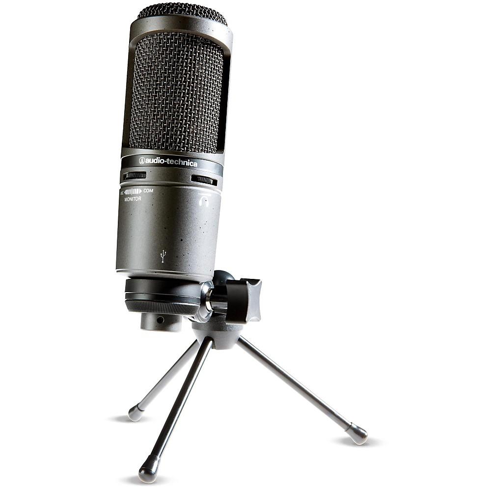 audio technica at2020usb side address cardioid condenser usb microphone 3111003601 ebay. Black Bedroom Furniture Sets. Home Design Ideas
