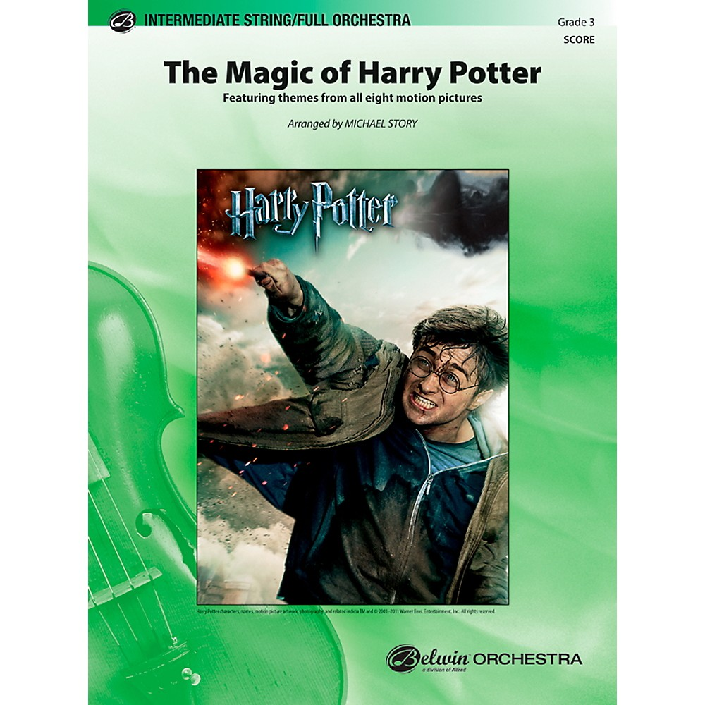 Harry Potter Book Grade Level : Sheet music song books alfred the magic of harry