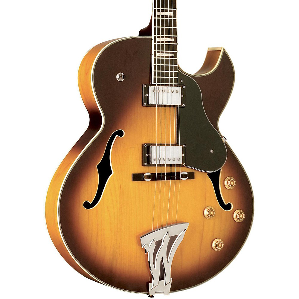 washburn j3tsk jazz tobacco sb electric guitar with case ebay. Black Bedroom Furniture Sets. Home Design Ideas