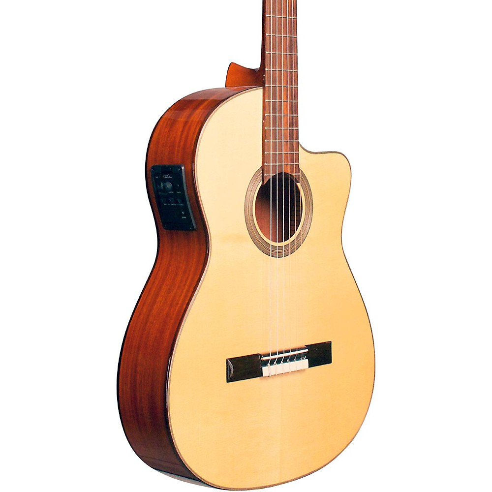 acoustic cordoba fusion 12 natural spruce classical electric guitar natural spruce top was. Black Bedroom Furniture Sets. Home Design Ideas