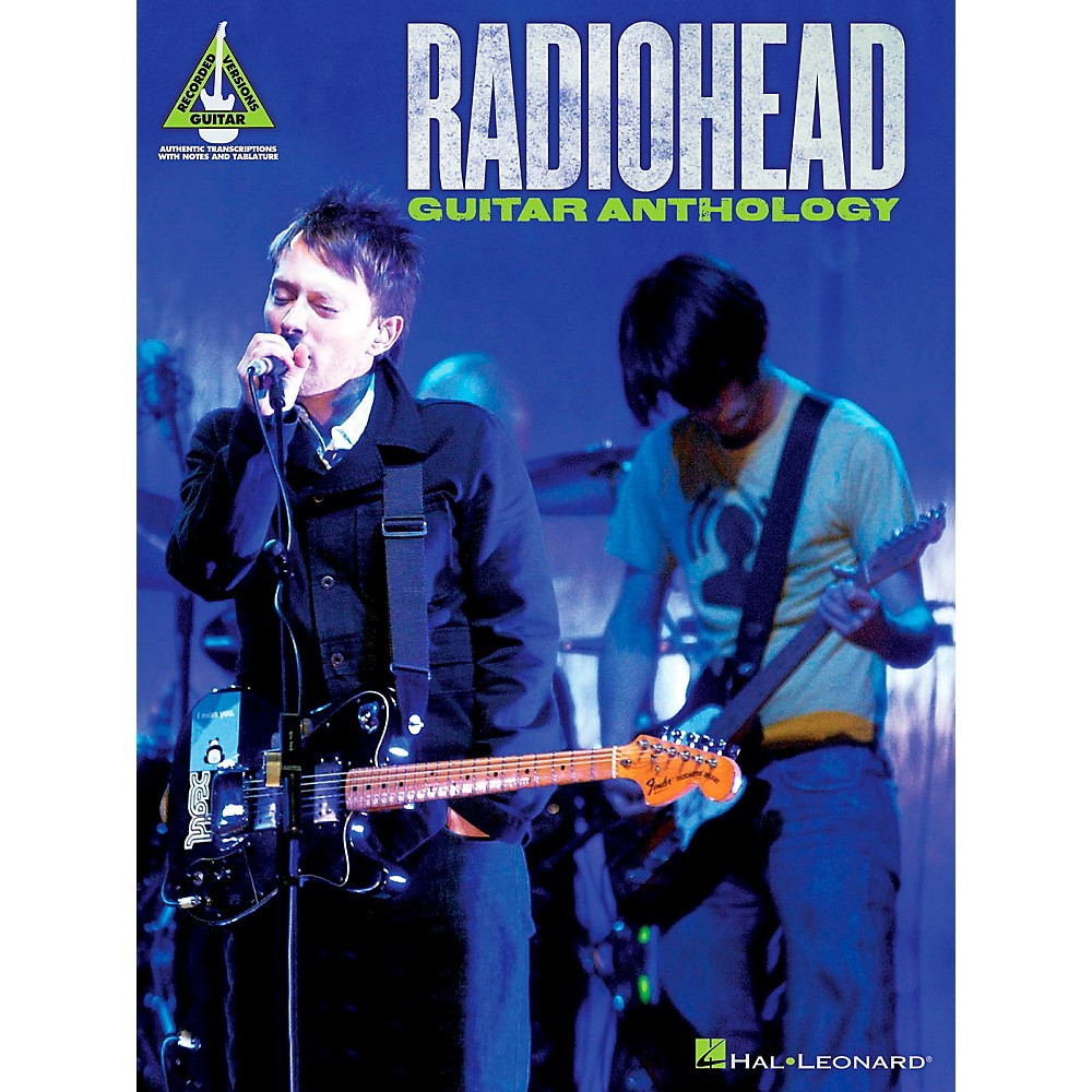 Sheet Music & Song Books - Hal Leonard Radiohead Guitar ...