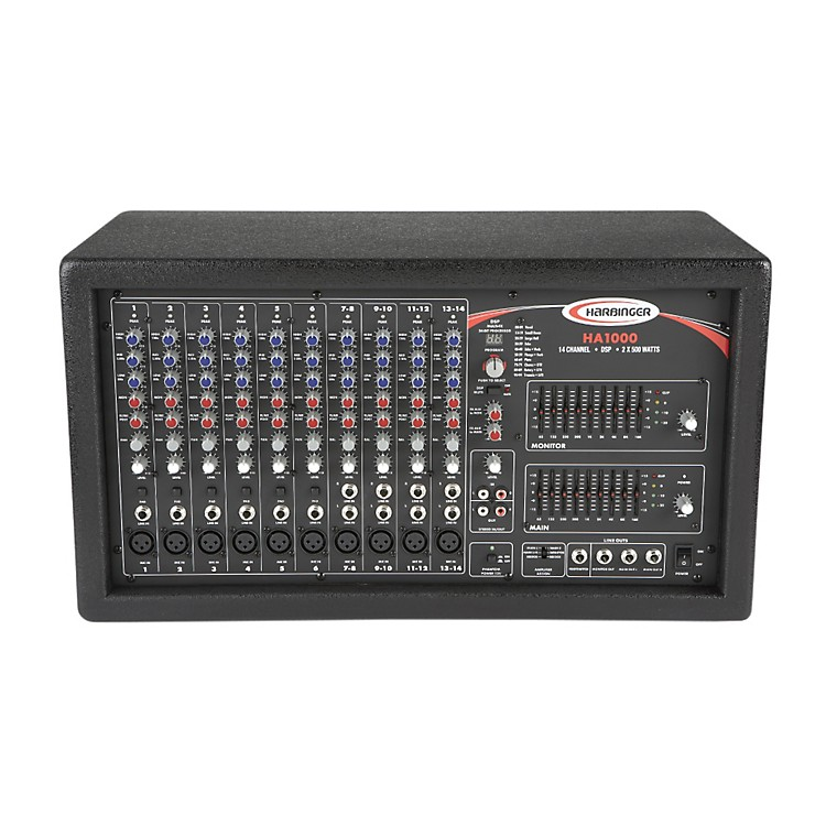 Harbinger HA1000 Powered Mixer