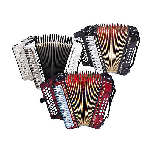 Hohner HA3522 Corona II Classic Diatonic Accordion