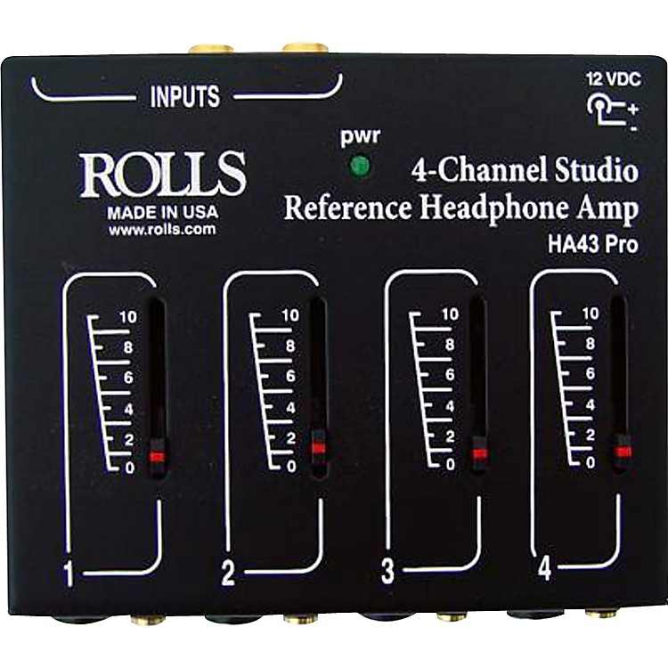 Rolls HA43 Pro Stereo Headphone Amp