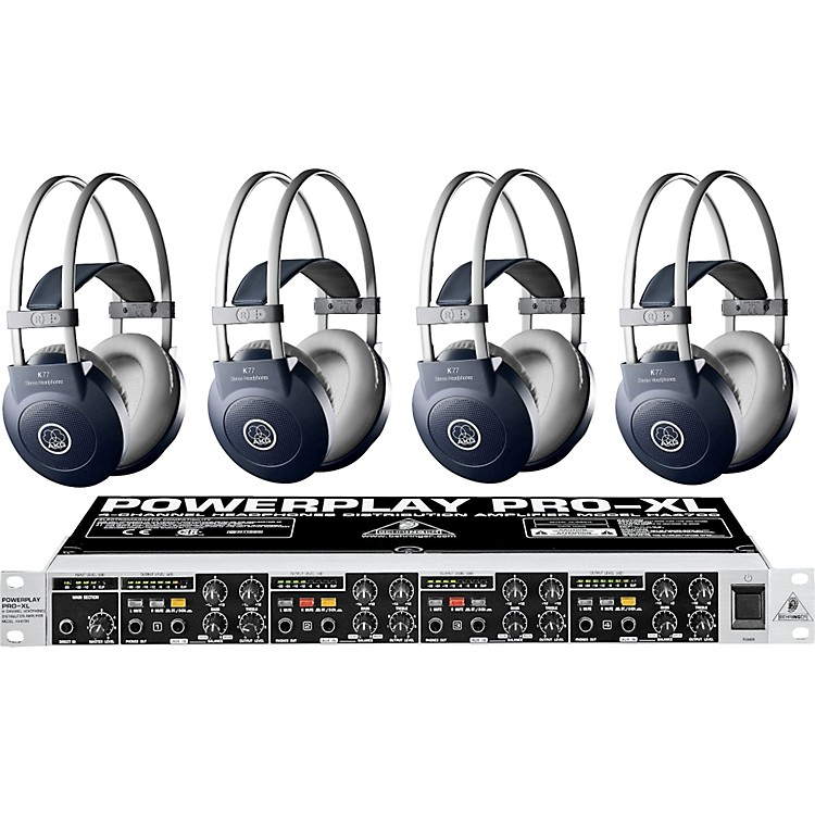 AKG HA4700/K77 Headphone Four Pack