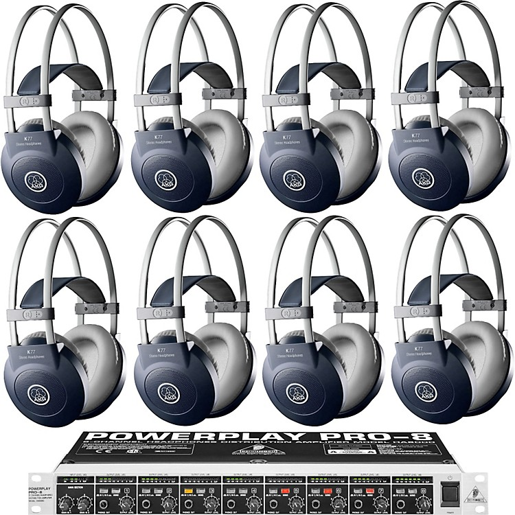 AKG HA8000/K77 Headphone Eight Pack