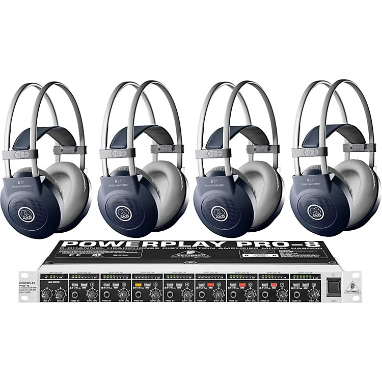 AKG HA8000/K77 Headphone Four Pack