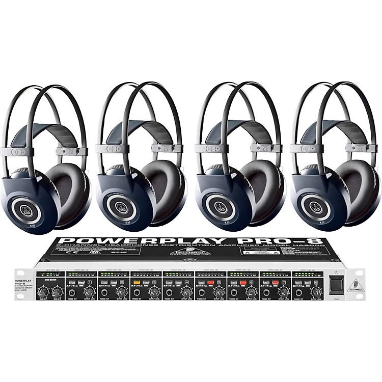 AKGHA8000/K99 Headphone Four Pack