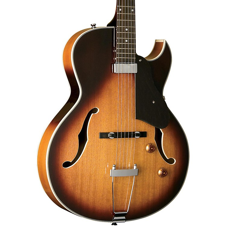 Washburn HB15 Hollowbody Mini-Humbucker Electric Guitar Sunburst