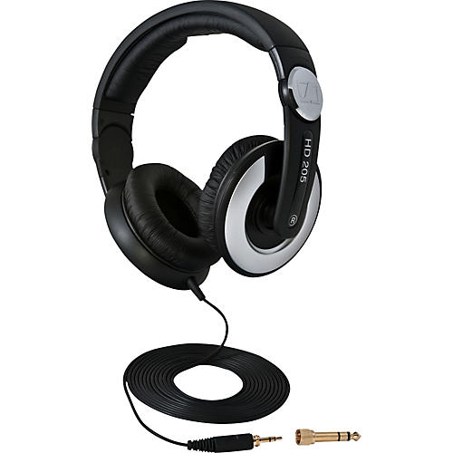 Sennheiser HD205 II Closed Back On Ear Studio Headphones