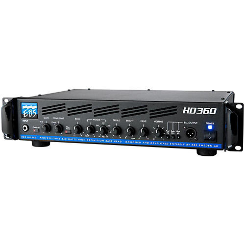 EBS HD360 360W Bass Guitar Amplifier Head-thumbnail