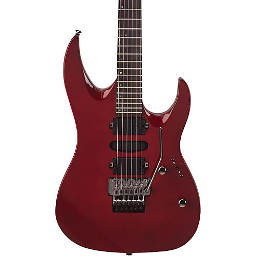 mitchell hd400 hard rock double cutaway electric guitar transparent red musician 39 s friend. Black Bedroom Furniture Sets. Home Design Ideas