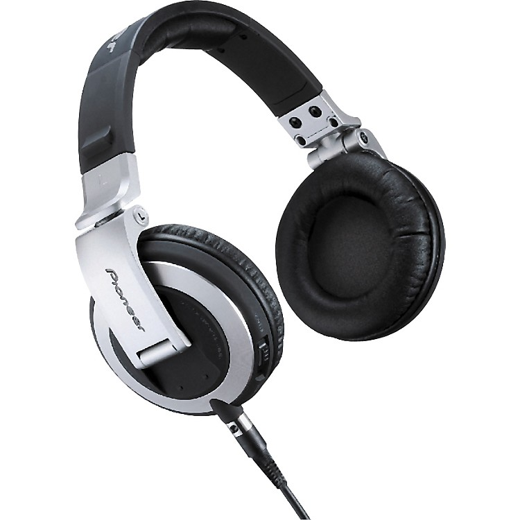 Pioneer HDJ-2000 Pro DJ Headphones Black Chrome