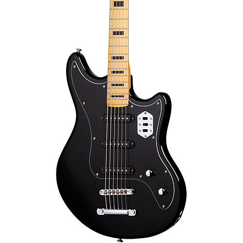 Schecter Guitar Research HELLCAT VI  Electric Guitar Black
