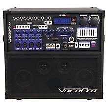 Open BoxVocoPro HERO-REC Multi-Format Portable P.A. Karaoke System w/ Digital Recorder