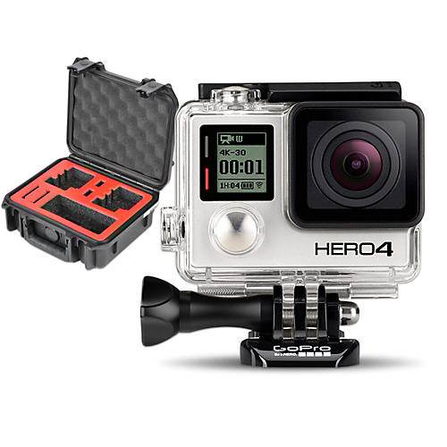 GoPro HERO4 Silver - Standard with Double Case