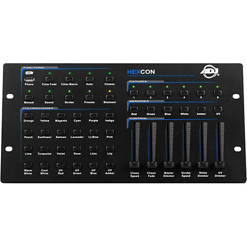 American DJ HEXCON 36-Channel DMX Controller