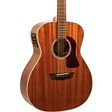 Washburn HG120SWEK Heritage Series Grand Auditorium Acoustic-Electric Guitar Natural
