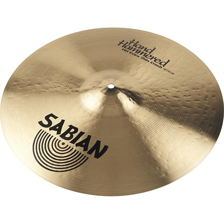 SabianHH Extra Thin Crash Cymbal Brilliant18