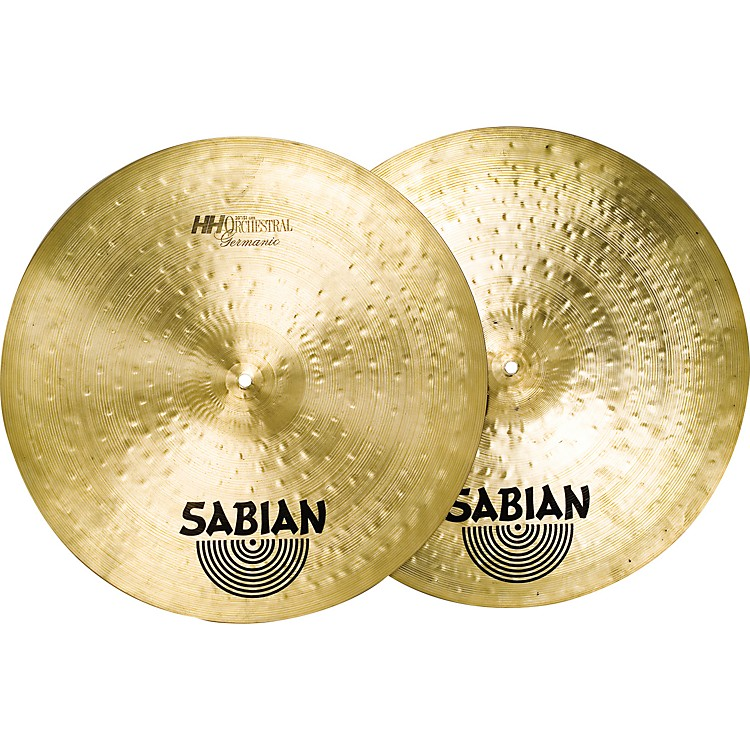 Sabian HH Hand Hammered Germanic Series Orchestral Cymbal Pair 21 Inch