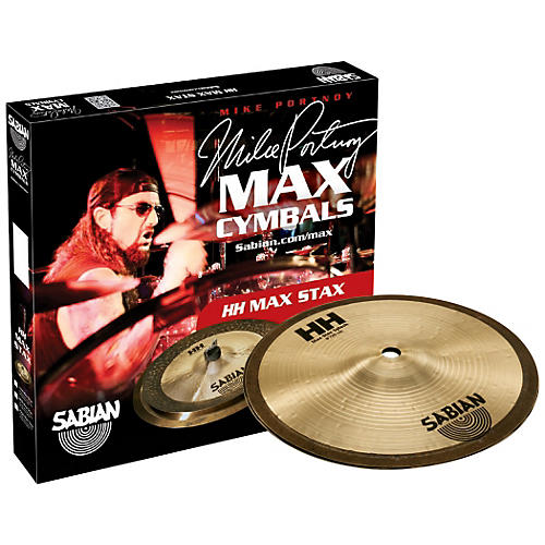 Sabian HH High Max Stax Cymbal Pack 8 Inch Kang, 8 Inch Splash