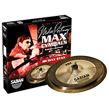 Sabian HH Low Max Stax Cymbal Pack Brilliant Finish
