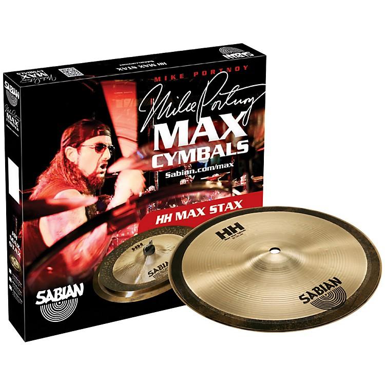 SabianHH Mid Max Stax Cymbal Pack10 Inch Kang, 10 Inch Crash