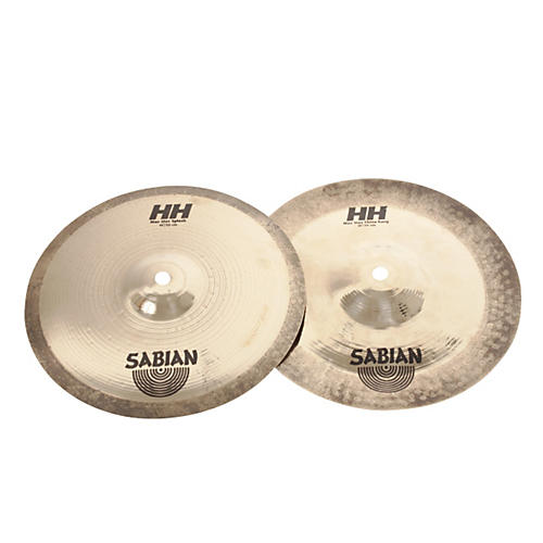 Sabian HH Mid Max Stax Cymbal Pack Brilliant Finish 10 in. Kang, 10 in. Crash Brilliant