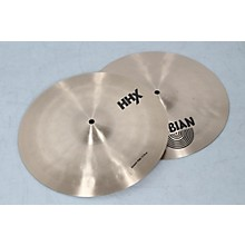 "Sabian HHX Groove Hi-Hat Cymbals Level 2 14"" 190839020147"