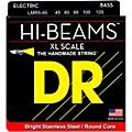 DR Strings HI-BEAM Stainless Steel 5-String Bass Strings X-Long Scale (45-65-85-105-125)  Thumbnail