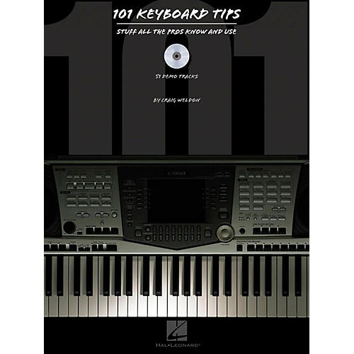 Hal Leonard HLP 310933 101 KYBD TIPS BOOK W/CD