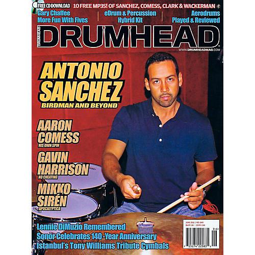 Hal Leonard HLP 77772091 DRUMHEAD MAGAZINE NOV/DEC 2015