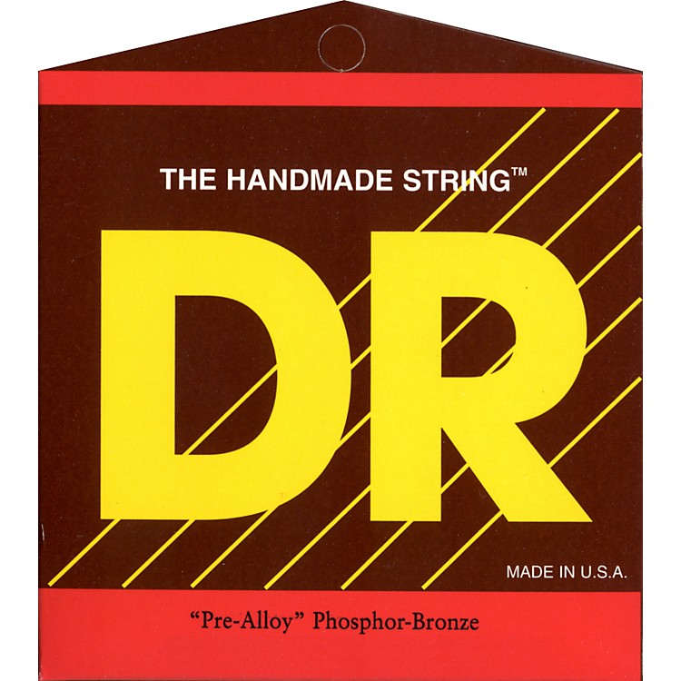 DR Strings HM DR MUSIC PM12 PRE ALLOY PHOS BRZ MED ACOUS STR