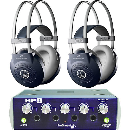 AKG HP4/K77 Headphone Two Pack