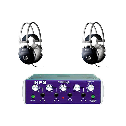 PreSonus HP4 and M80 MKII Headphone Package (2-pack)-thumbnail
