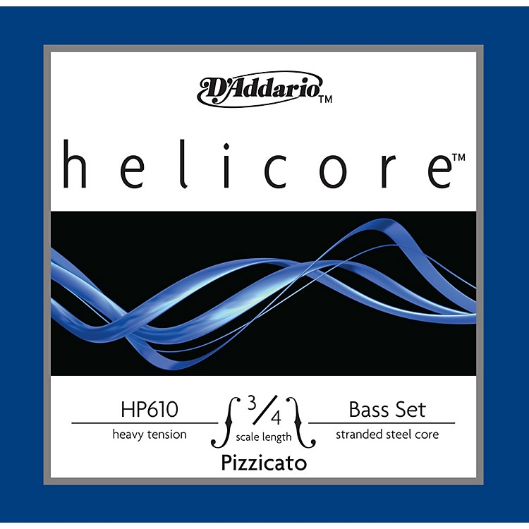 D'AddarioHP610 Helicore Pizzicato 3/4 Size Double Bass Heavy String Set